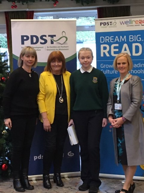 Charley Norris wins PDST National Poetry Award