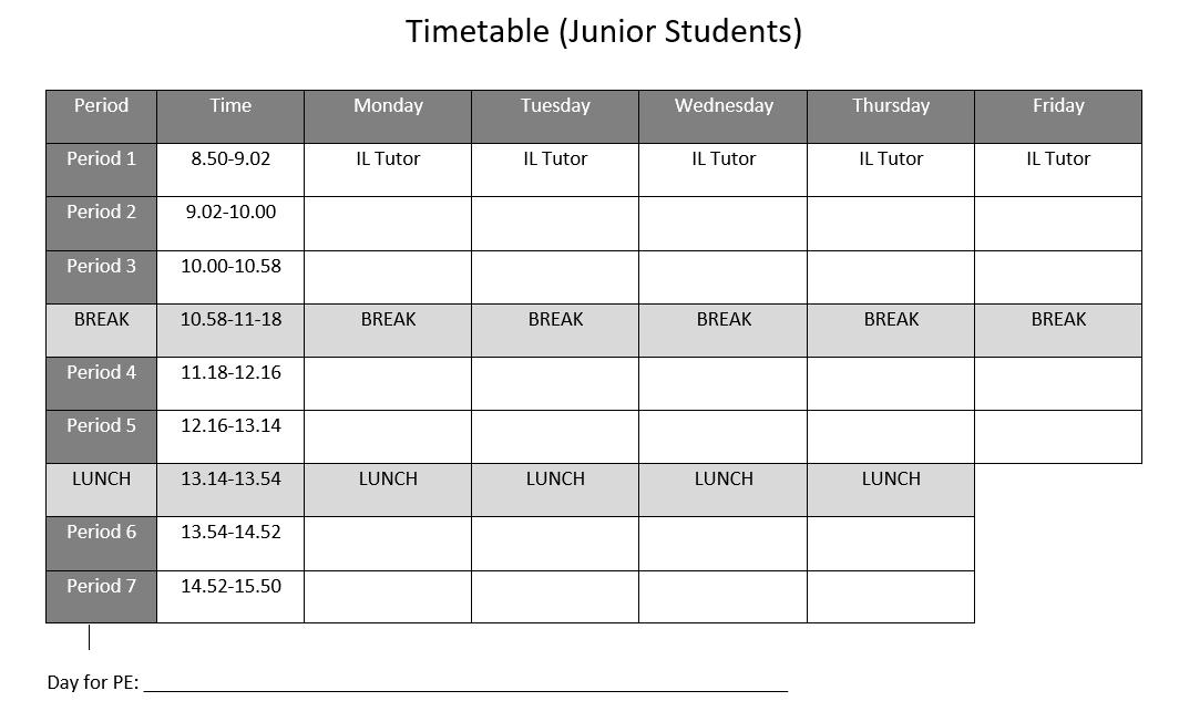 School day Juniors